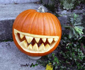Dentist Halloween Pumpkin